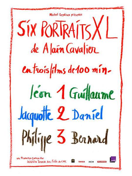 Six portraits XL de Alain Cavalier