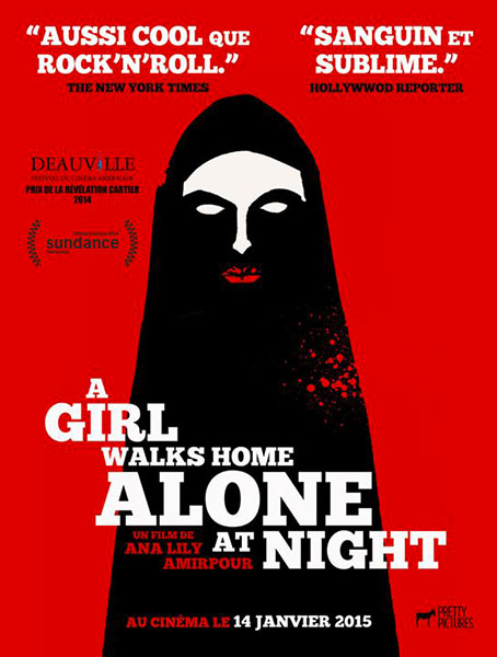 A girl walks home alone at night de Ana Lily Amirpour